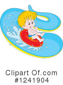 Royalty-Free (RF) Swimming Clipart Illustration #1241904