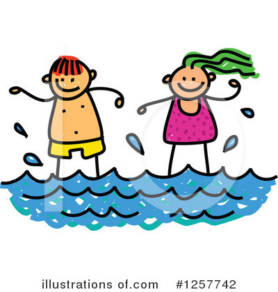 Stick Children Clipart #1257742 by Prawny