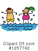 Swimming Clipart #1257742