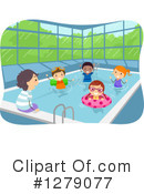 Royalty-Free (RF) Swimming Clipart Illustration #1279077