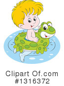 Swimming Clipart #1316372 by Alex Bannykh