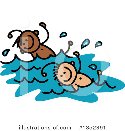 Swimming Clipart #1352891 by Prawny