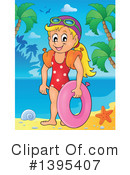 Swimming Clipart #1395407