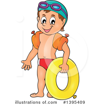 Swimming Clipart #1395409 by visekart
