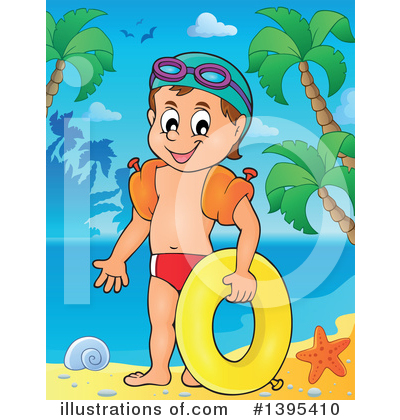 Swimming Clipart #1395410 by visekart