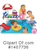 Swimming Clipart #1407736