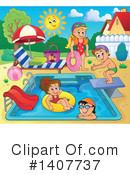 Swimming Clipart #1407737