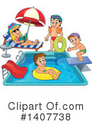 Swimming Clipart #1407738