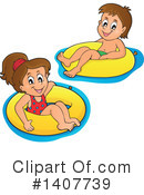Swimming Clipart #1407739
