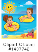Swimming Clipart #1407742