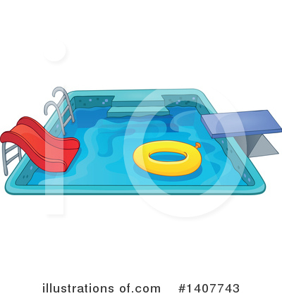 Swimming Clipart #1407743 by visekart