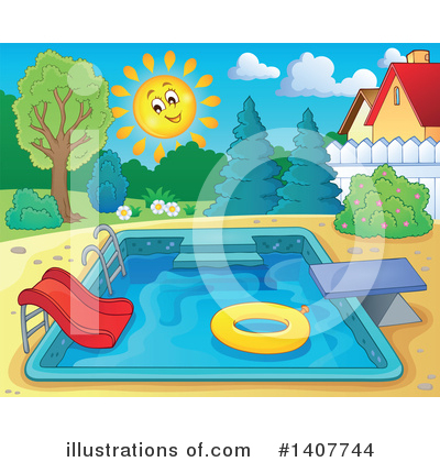 Swimming Clipart #1407744 by visekart