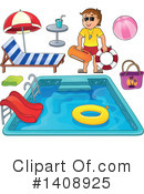 Swimming Clipart #1408925 by visekart
