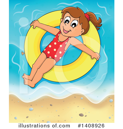 Swimming Clipart #1408926 by visekart