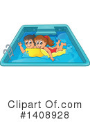Swimming Clipart #1408928 by visekart