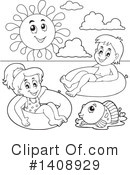 Swimming Clipart #1408929