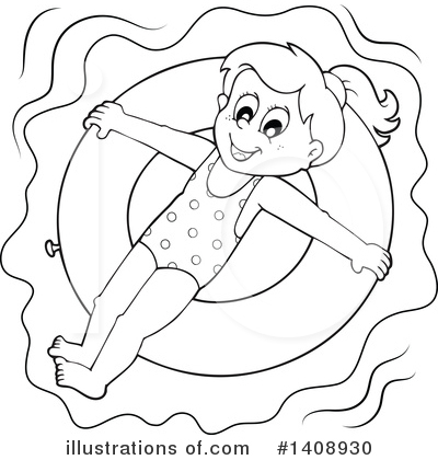 Swimming Clipart #1408930 by visekart