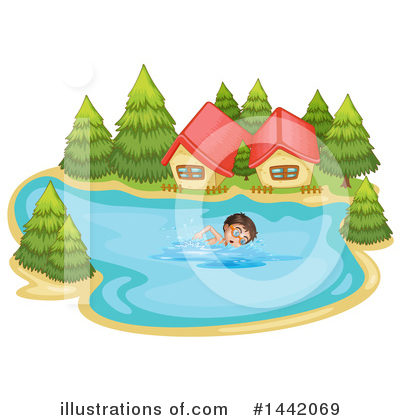Cabin Clipart #1442069 by Graphics RF