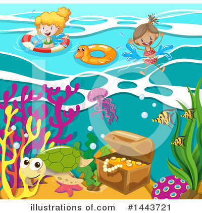 Sunken Treasure Clipart #1443721 by Graphics RF