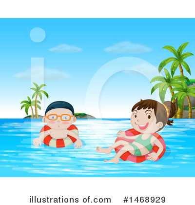 Swimming Clipart #1468929 by Graphics RF