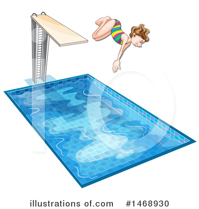 Swimming Clipart #1468930 by Graphics RF