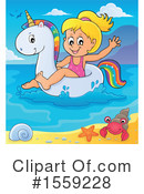 Swimming Clipart #1559228 by visekart
