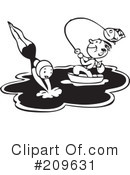Swimming Clipart #209631