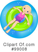 Royalty-Free (RF) swimming Clipart Illustration #99008