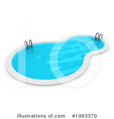 Royalty-Free (RF) Swimming Pool Clipart Illustration by BNP Design Studio - Stock Sample #1063370