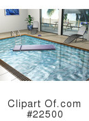 Royalty-Free (RF) Swimming Pool Clipart Illustration #22500