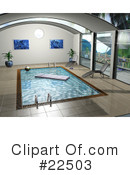 Swimming Pool Clipart #22503 by KJ Pargeter