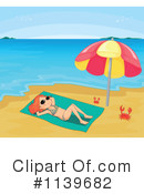 Royalty-Free (RF) swimsuit Clipart Illustration #1139682