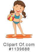 Royalty-Free (RF) swimsuit Clipart Illustration #1139688