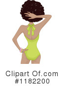 Royalty-Free (RF) swimwear Clipart Illustration #1182200