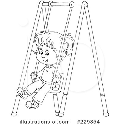 Playground Clipart #229854 by Alex Bannykh