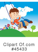 Swinging Clipart #45433 by TA Images