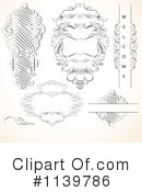 Royalty-Free (RF) Swirl Clipart Illustration #1139786