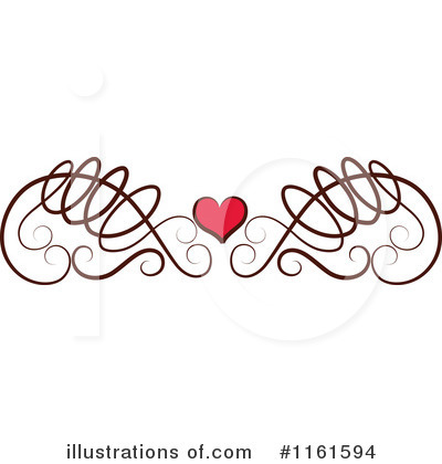 Swirls Clipart #1161594 by Cherie Reve