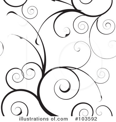 Royalty-Free (RF) Swirls Clipart Illustration by michaeltravers - Stock Sample #103592