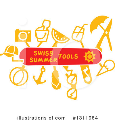 Sandals Clipart #1311964 by Zooco