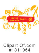 Swiss Army Knife Clipart #1311964 by Zooco