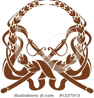 Coat Of Arms Clipart #1237913 by Vector Tradition SM