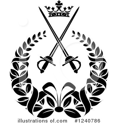 Coat Of Arms Clipart #1240786 by Vector Tradition SM