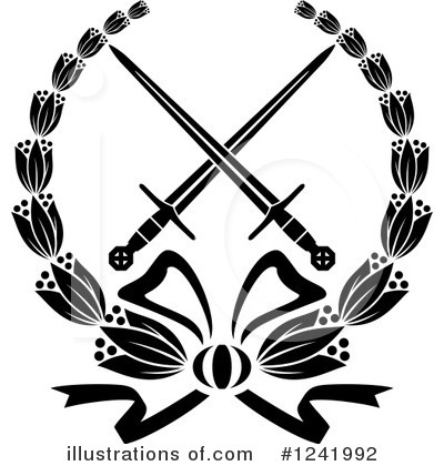 Coat Of Arms Clipart #1241992 by Vector Tradition SM