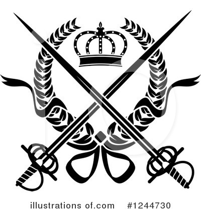 Coat Of Arms Clipart #1244730 by Vector Tradition SM