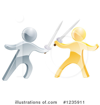 Fencing Clipart #1235911 by AtStockIllustration