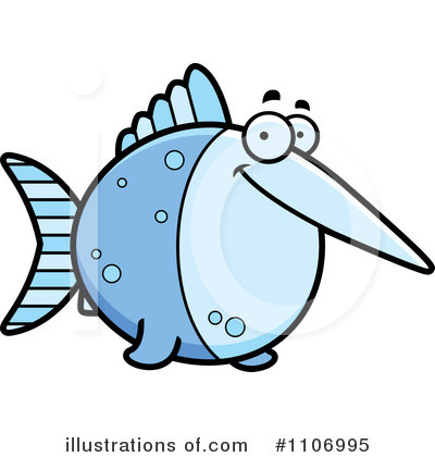 Fish Clipart #1106995 by Cory Thoman