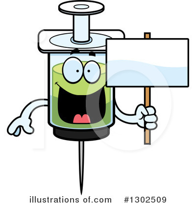 Syringe Clipart #1302509 by Cory Thoman