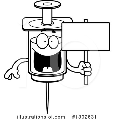 Syringe Clipart #1302631 by Cory Thoman