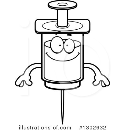 Syringe Clipart #1302632 by Cory Thoman